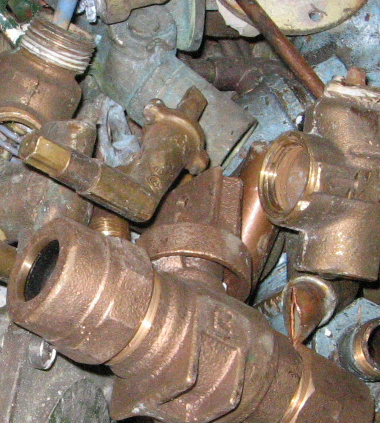 Brass & Copper recycling at Davis Trading