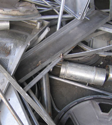 Stainless Steel recycling at Davis Trading
